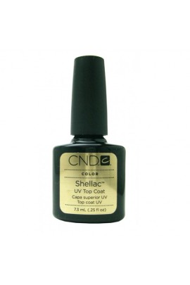 CND Shellac Power Polish - UV Top Coat - 0.25oz / 7.3ml