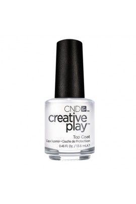 CND Creative Play Nail Lacquer - Top Coat - 0.46oz / 13.6ml