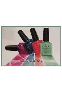 CND Shellac Power Polish - Trendy Trial Pack - NEW 2016