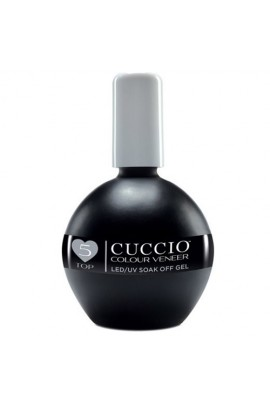 Cuccio Colour Veneer - LED/UV Soak Off Gel - #5 Top Coat Treatment - 2.5oz / 75ml