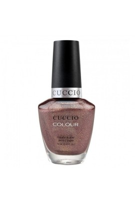 Cuccio Colour Nail Lacquer - Coffee, Tea or Me - 0.43oz / 13ml