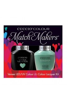 Cuccio Match Makers - Veneer LED/UV Colour & Colour Lacquer - Karma 6153 - 0.43oz / 13ml each