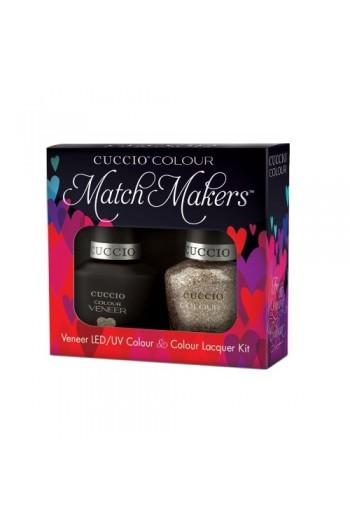 Cuccio Match Makers - Veneer LED/UV Colour & Colour Lacquer - Cuppa Cuccio - 0.43oz / 13ml each