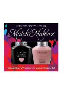 Cuccio Match Makers - Veneer LED/UV Colour & Colour Lacquer - Namaste 6154 - 0.43oz / 13ml each
