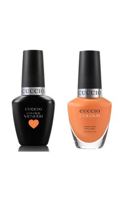 Cuccio Match Makers - Veneer LED/UV Colour & Colour Lacquer - Very Sherbert - 0.43oz / 13ml each