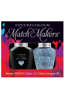 Cuccio Match Makers - Veneer LED/UV Colour & Colour Lacquer - A Star is Born - 0.43oz / 13ml
