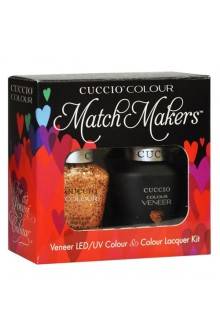 Cuccio Match Makers - Veneer LED/UV Colour & Colour Lacquer - After Party - 0.43oz / 13ml each