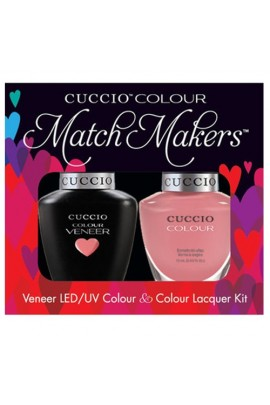 Cuccio Match Makers - Veneer LED/UV Colour & Colour Lacquer - Color Cruise Collection - All Decked Out - 0.43oz / 13ml each