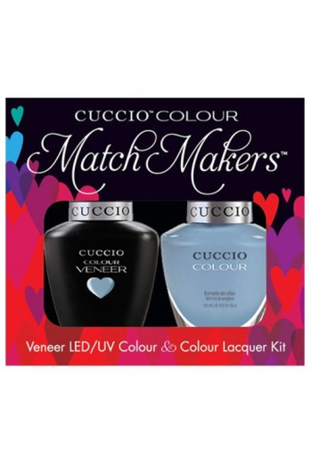Cuccio Match Makers - Veneer LED/UV Colour & Colour Lacquer - Color Cruise Collection - All Tide Up! - 0.43oz / 13ml each