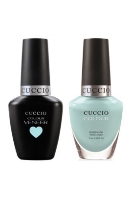 Cuccio Match Makers - Veneer LED/UV Colour & Colour Lacquer - Blue Hawaiian - 0.43oz / 13ml each
