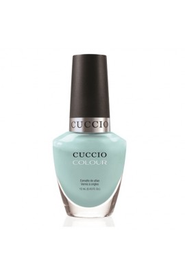 Cuccio Colour Nail Lacquer - Blue Hawaiian - 0.43oz / 13ml