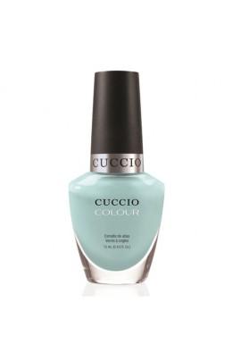 Cuccio Colour Nail Lacquer - Blue Hawaiian - 0.43oz / 13ml