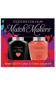 Cuccio Match Makers - Veneer LED/UV Colour & Colour Lacquer - California Dreamin - 0.43oz / 13ml each