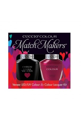 Cuccio Match Makers - Veneer LED/UV Colour & Colour Lacquer - Call In The Calgary - 0.43oz / 13ml each