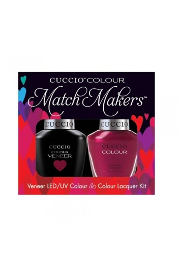 Cuccio Match Makers - Veneer LED/UV Colour & Colour Lacquer - Call In The Calgary - 0.43oz / 13ml each