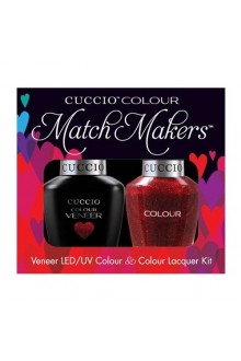 Cuccio Match Makers - Veneer LED/UV Colour & Colour Lacquer - Chakra 6152 - 0.43oz / 13ml each