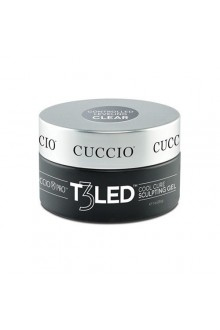 Cuccio Pro - T3 LED/UV Controlled Leveling Gel - Clear - 28g / 1oz