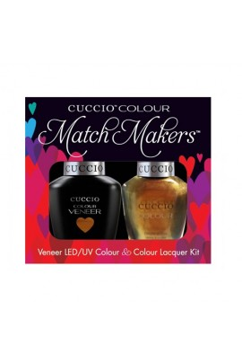 Cuccio Match Makers - Veneer LED/UV Colour & Colour Lacquer - Crown Jewels 6170 - 0.43oz / 13ml each
