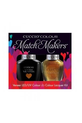 Cuccio Match Makers - Veneer LED/UV Colour & Colour Lacquer - Crown Jewels 6170 - 0.43oz / 13ml each