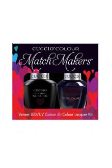 Cuccio Match Makers - Veneer LED/UV Colour & Colour Lacquer - Dancing Queen 6164 - 0.43oz / 13ml each