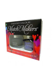 Cuccio Match Makers - Veneer LED/UV Colour & Colour Lacquer - Gala - 0.43oz / 13ml each