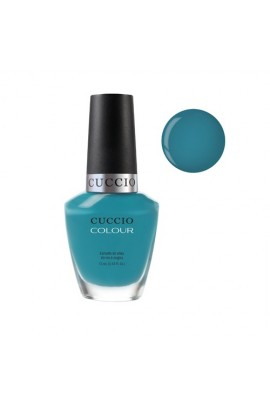 Cuccio Colour Nail Lacquer - Grecian Sea - 0.43oz / 13ml