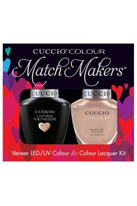 Cuccio Match Makers - Veneer LED/UV Colour & Colour Lacquer - Color Cruise Collection - I Want Moor - 0.43oz / 13ml each
