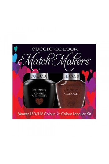 Cuccio Match Makers - Veneer LED/UV Colour & Colour Lacquer - It's No Istanbul - 0.43oz / 13ml each