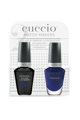 Cuccio Match Makers - Veneer LED/UV Colour & Colour Lacquer - Lauren Blucall - 0.43oz / 13ml each