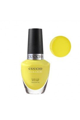 Cuccio Colour Nail Lacquer - Lemon Drop Me a Lime - 0.43oz / 13ml