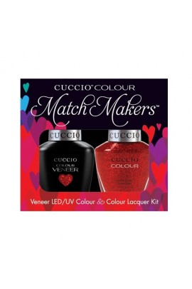 Cuccio Match Makers - Veneer LED/UV Colour & Colour Lacquer - Manhattan Mayhem - 0.43oz / 13ml each