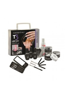 Cuccio Pro - T3 LED/UV Controlled Leveling Gel - Master Kit