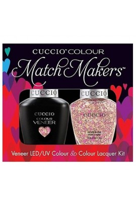 Cuccio Match Makers - Veneer LED/UV Colour & Colour Lacquer - Mimes & Musicians - 0.43oz / 13ml