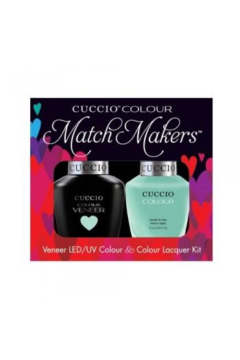 Cuccio Match Makers - Veneer LED/UV Colour & Colour Lacquer - Mint Condition - 0.43oz / 13ml each