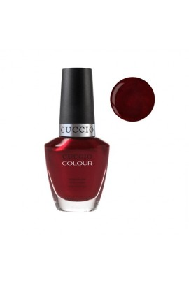 Cuccio Colour Nail Lacquer - Moscow Red Square - 0.43oz / 13ml