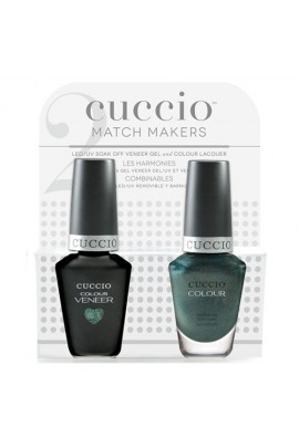 Cuccio Match Makers - Veneer LED/UV Colour & Colour Lacquer - Notorious - 0.43oz / 13ml each