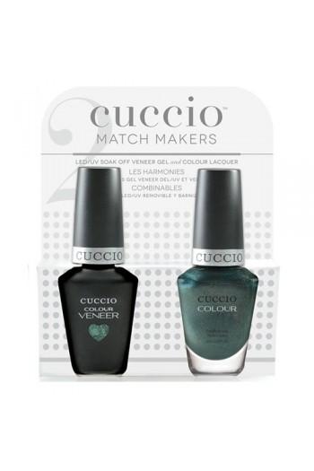 Cuccio Match Makers - Veneer LED/UV Colour & Colour Lacquer - Notorious - 0.43oz / 13ml each