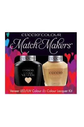 Cuccio Match Makers - Veneer LED/UV Colour & Colour Lacquer - Oh Naturale 6174 - 0.43oz / 13ml each
