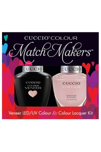 Cuccio Match Makers - Veneer LED/UV Colour & Colour Lacquer - Color Cruise Collection - On Sail - 0.43oz / 13ml each