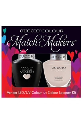 Cuccio Match Makers - Veneer LED/UV Colour & Colour Lacquer - Color Cruise Collection - Pier Pressure - 0.43oz / 13ml each