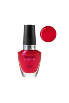 Cuccio Colour Nail Lacquer - Red Lights in Amsterdam - 0.43oz / 13ml