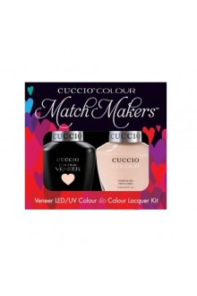 Cuccio Match Makers - Veneer LED/UV Colour & Colour Lacquer - See It All In Montreal - 0.43oz / 13ml each