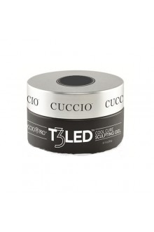 Cuccio Pro - T3 LED/UV Self Leveling Gel - Clear - 28g / 1oz