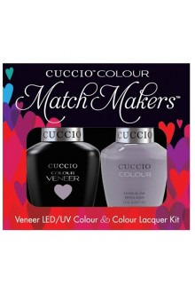 Cuccio Match Makers - Veneer LED/UV Colour & Colour Lacquer - Soul Surfer - 0.43oz / 13ml each