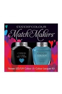 Cuccio Match Makers - Veneer LED/UV Colour & Colour Lacquer - Sugar Daddy 6162 - 0.43oz / 13ml each
