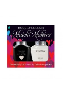 Cuccio Match Makers - Veneer LED/UV Colour & Colour Lacquer - Tahitian Villa - 0.43oz / 13ml each
