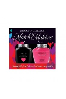 Cuccio Match Makers - Veneer LED/UV Colour & Colour Lacquer - Totally Tokyo - 0.43oz / 13ml each