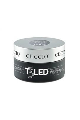 Cuccio Pro - T3 LED/UV Controlled Leveling Gel - White - 28g / 1oz