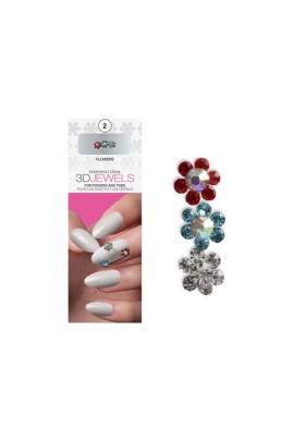 Dashing Diva - 3D Jewels - Flowers