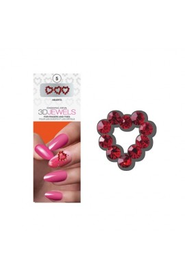 Dashing Diva - 3D Jewels - Hearts
